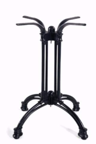 bases restaurant table base is a antique look cast iron table base suitable for restaurants and hotels height 710mm colour black